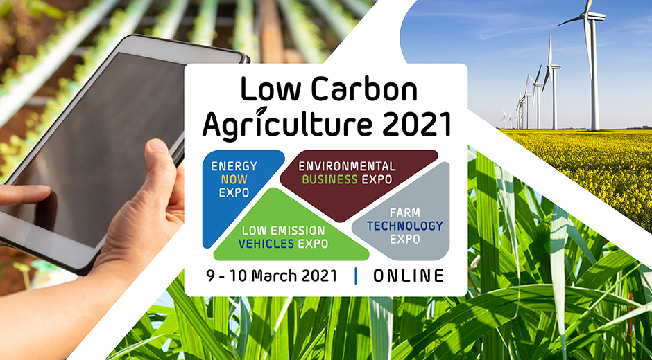 Low Carbon Agriculture Show 2021 - Energy Now Expo (virtual)