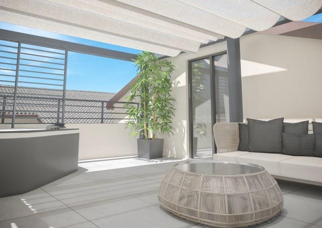 Moderno loft disposto su tre livelli