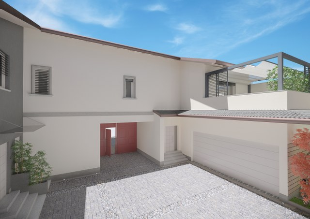 Trilocale con ingresso privato e terrazzo