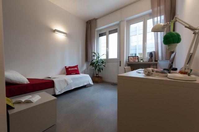 Singola in appartamento ristrutturato
