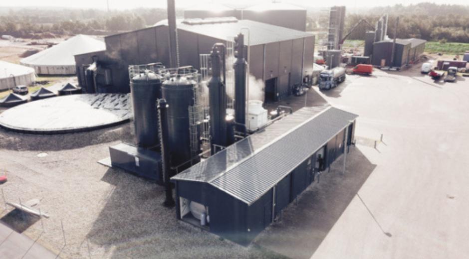Produktion og udnyttelse af CO2 på biogasanlæg