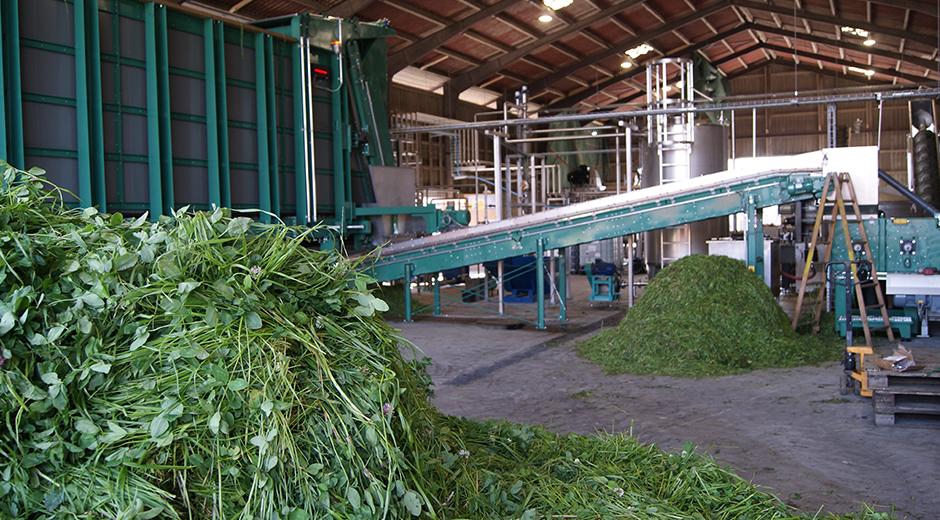 Grøn bioraffinering i praksis